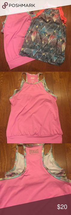 Girls Bundle of Athletic Tank Tops Girls Bundle of  2 Athletic Wear Tank Tops Size: Large (10/12) Both Have Built In Bra Gently Used My Daughter Wore These For Gymnastics Class Comes From a Smoke and Pet Free Home Everlast Shirts & Tops Tank Tops