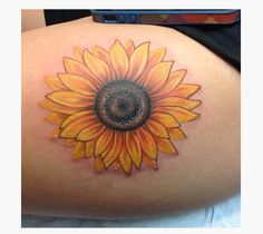27 Amazing Sunflower Tattoos Ideas