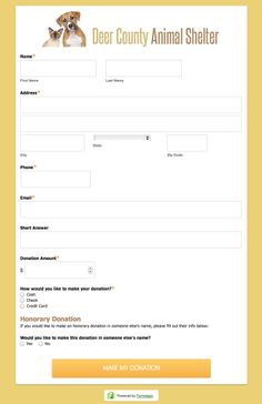 Donation Form Templates Awesome Add Or Remove A Signup Form On Your Facebook Page  Mailchimp .
