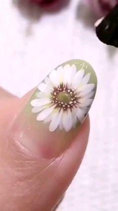 Nail Polish Art, Nail Polish Designs, Acrylic Nail Designs, Nails Design, Neon Acrylic Nails, French Acrylic Nails, Wow Nails, Nail Art Techniques, Nail Art Designs Videos
