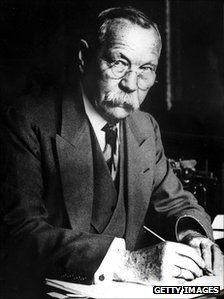 Sir Arthur Conan Doyle (1859-1930), best known as the Author of the Sherlock Holmes Series, was raised in Phoenix Lodge #257, Hampsire. In addition to writing the books about the famous sleuth, Doyle was a physician, author of many books and short stories on other subjects, a spiritualist and a sportsman. He was an early proponent of a tunnel connecting England and France, metal helmets for combat soldiers, and inflatable life-preservers for sailors. In 1894, on a US visit, he introduced…