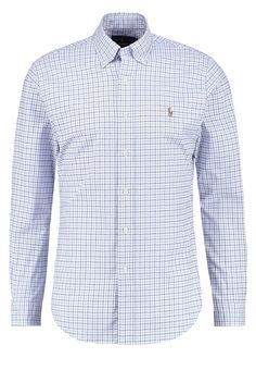 Polo Ralph Lauren SLIM FIT Hemd blue/white Premium bei Zalando.de   Material Oberstoff: 98% Baumwolle, 2% Elasthan   Premium jetzt versandkostenfrei bei Zalando.de bestellen!