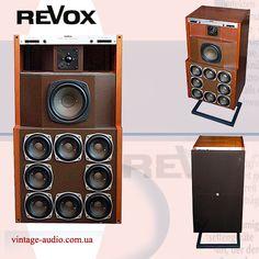 Revox BX-4100 Best Speakers, Stereo Speakers, Wireless Speakers, Audiophile Speakers, Speaker Design, Electronics Gadgets, Loudspeaker, Audio Equipment, Logitech