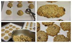 Coconut Oil Oatmeal Cookies