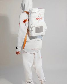 Even NASA is respecting the culture Fashion Brand, Fashion News, Mens Fashion, Fashion Outfits, Fashion Design, Space Fashion, Tactical Clothing, Future Fashion, Hypebeast