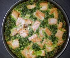 Rezept Lachs-Spinatkuchen von latina - Rezept der Kategorie Backen herzhaft