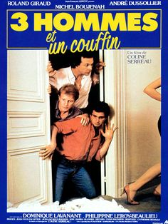 Redécouvrez la bande-annonce du film Trois hommes et un couffin ponctuée des secrets de tournage et d'anecdotes sur celui-ci. Trois hommes et un couffin es