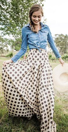 This skirt has a very cool pattern, almost a drop waist style, fitted at hips to flowing below.