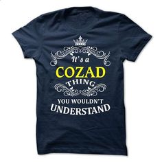 COZAD it is - #best friend shirt #funny tshirt. ORDER NOW => https://www.sunfrog.com/Valentines/-COZAD-it-is-73773816-Guys.html?68278