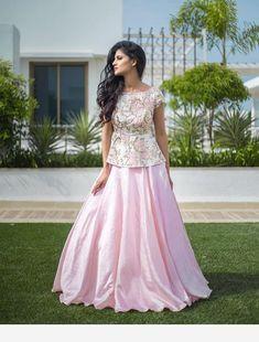 30 Latest Lehenga Saree Blouse Designs to inspire you - Wedandbeyond Choli Designs, Lehenga Designs, Blouse Lehenga, Lehnga Dress, Lehenga Skirt, Anarkali, Indian Designer Outfits, Indian Outfits, Designer Dresses