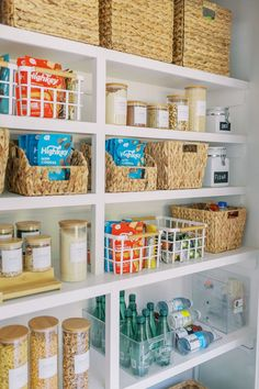 I recently did a complete makeover to my pantry, and added in so many different forms of storage and organization! I have created a space that is clutter-free and pleasing to the eye, but also reasonable for every day life. Below I am going to break down each section of my pantry to give you...