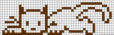 Sticken Kreuzstich - cross stitch - free pattern A54043 - friendship-bracelets.net