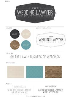 The Wedding Lawyer - Logo Design Saffron Avenue Saffron Avenue