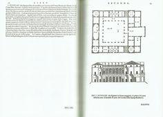 Andrea Palladio, Palazzo  iene, Vicenza, 1542 (Andrea Palladio, I quattro libri dell'architettura, Venetia, Domin- ico de' Franceschi, 1570, Libro Secondo p. 13, http://dx.doi. org/10.3931/e-rara-363)