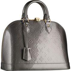 Louis Vuitton Outlet Monogram Vernis Alma PM M91613 $250