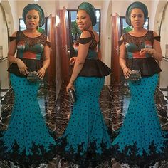 Slayed #asoebispecial #asoebi #speciallovers #makeup #wedding outfit by @ejiro88