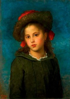 Helen Euphrosyne Ionides; Lallie Ionides - George Frederick Watts ~ (English: 1817-1904)
