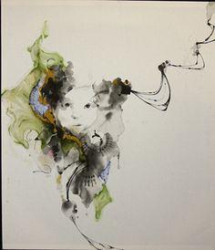 Dysphonia,Figurative Art, Artist Study with thanks to Jaclyn Alderete for Art School Students, CAPI ::: Create Art Portfolio Ideas at milliande.com Art School Portfolio, Painting, People, Figurative
