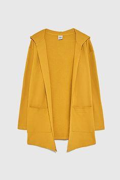 Hooded Cardigan, Cotton Cardigan, Long Cardigan, Sweater Hoodie, Zara, Beautiful Outfits, Hoods, What To Wear, Duster Coat