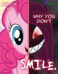 Pinkie pie insanity. Nightmare