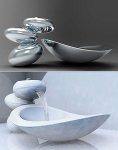 Lavandino futuristico per bagni  moderni n.02