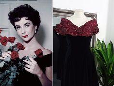 Old Hollywood Dress, Hollywood Glamour, Vintage Ball Gowns, Vintage Dress, Grace Kelly Dresses, Ball Dresses, Prom Dresses, 1950s Fashion Dresses, Wine Dress