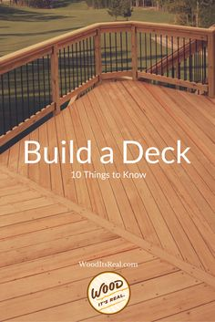 10 Things To Do When Building a DIY Deck. Read our tips to save you some time, money, and hopefully a little misery.