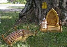 Hey, I found this really awesome Etsy listing at https://www.etsy.com/listing/165852990/complete-garden-gnome-door-set-will-turn