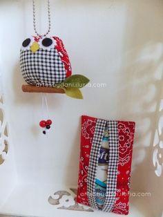 Kit chaveiro   porta lenços #1