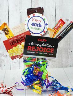 40th Birthday Gift Idea - Fun-Squared
