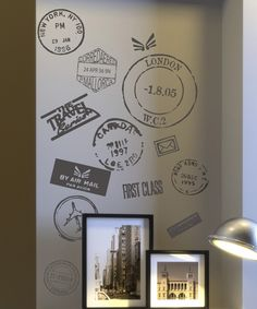 Look at this Travel Postmark Wallquotes.com Decal on #zulily today!