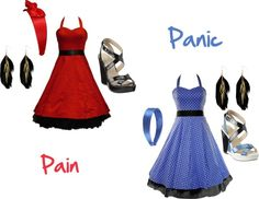 """""""Pain & Panic"""" by missnapp on Polyvore"""