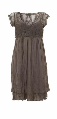 Mocha Lace Dress ~ Mint Velvet