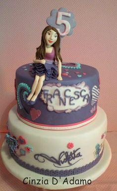 Violetta - by CinziaD @ CakesDecor.com - cake decorating website