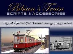 Tram- / Streetcar - Package Vienna (vintage, SLRR Standard)