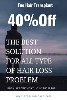 Summer offeer on hair transplant . The best solution for all type of hair loss problem.