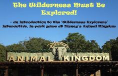 A review of the fun Wilderness Explorers in-park game at Disney World's Animal Kingdom park.