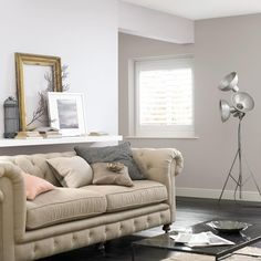 Clay White and Grey Putty colour - for our bedroom