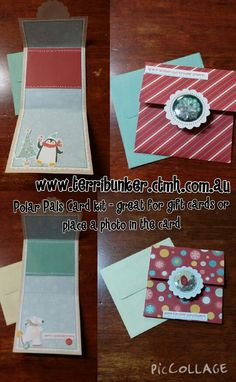 Polar Pals Card Kit -Part 1
