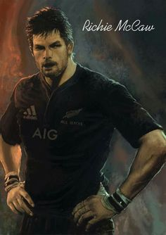 The Captain, Richie McCaw