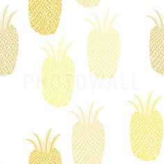 Pineapple - Wall Mural & Photo Wallpaper - Photowall
