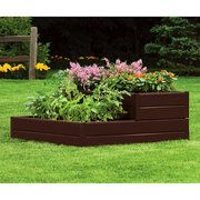 Suncast Tiered Raised Garden Bed