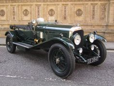 1929 Bentley 4.5 Litre Tourer Maintenance of old vehicles: the material for new cogs/casters/gears/pads could be cast polyamide which I (Cast polyamide) can produce
