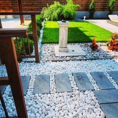 Stepping Stones, Outdoor Decor, Modern, Stair Risers, Trendy Tree