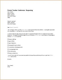 Excessive Leaves Warning Letter Download At HttpWwwTemplateinn