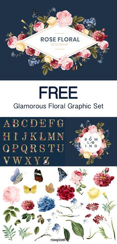 New design portfolio logo graphics 31 Ideas Corporate Identity Design, Portfolio Logo, Portfolio Design, Floral Vector Free, Free Vector Art, Strand Clipart, Adobe Illustrator, Floral Logo, Kawaii