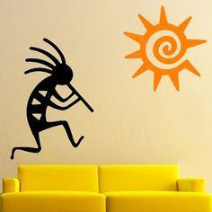 Zuni Stencil Fetish Bear Arrow Star Southwestern Design