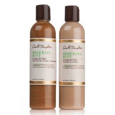 7. Carol's #Daughter Rosemary and Mint #Purifying Duo - 7 Best Hair Care Products for #African American Hair ... → Hair #American