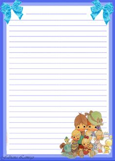 Momentos Preciosos Printable Lined Paper, Free Printable Stationery, Stationery Craft, Printable Planner Stickers, Printables, Lined Writing Paper, Writing Papers, Paper Art, Paper Crafts
