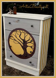 ART IS BEAUTY: TREE OF LIFE Fenner Auction Dresser